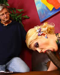 Cuckold Cum Eater Interratial Sex