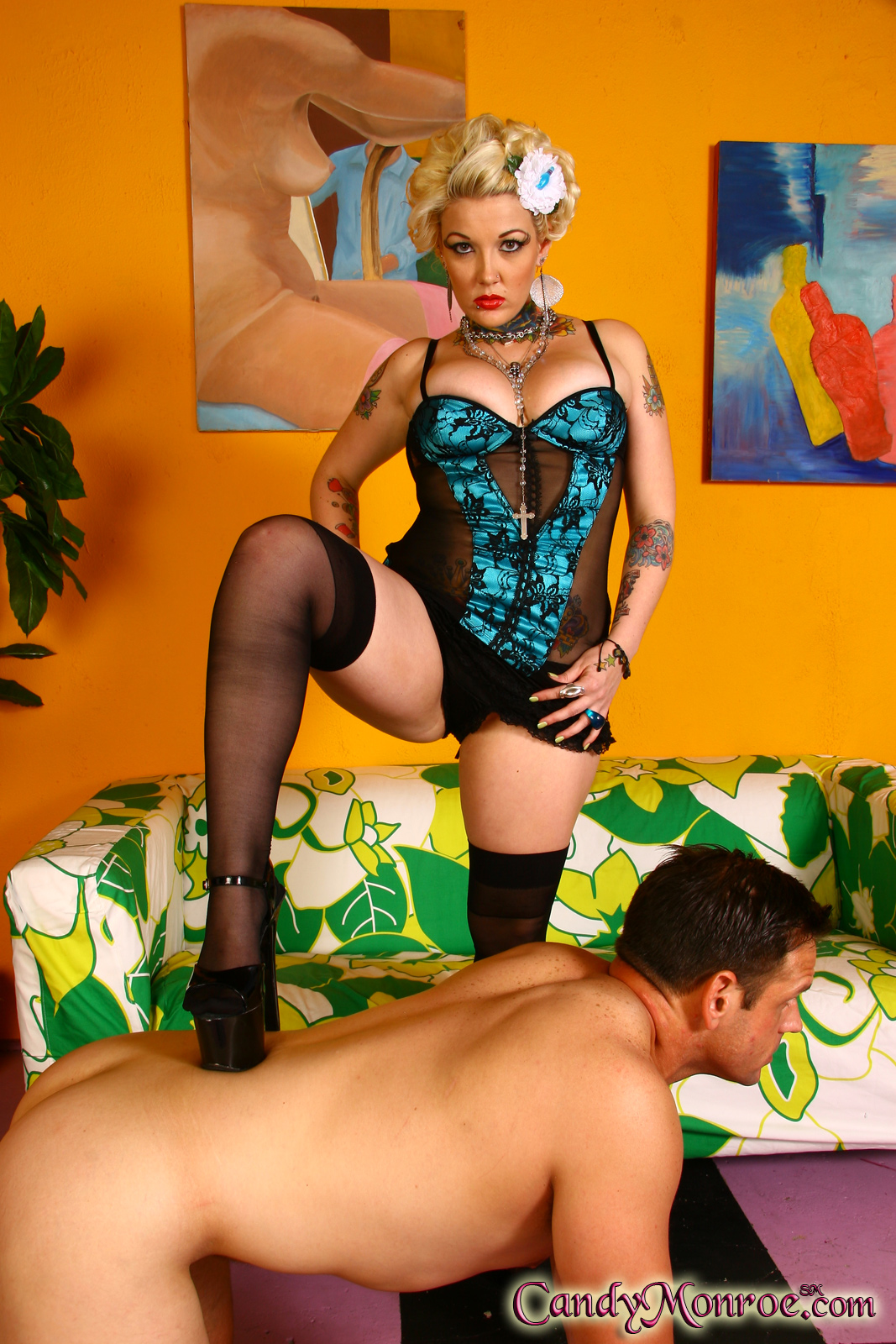 Saras 1st Timewhile Her Cuckold Partner Watches